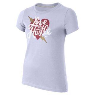 Nike Love to Hustle Girls T Shirt   Hydrangeas
