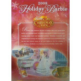 Holiday Barbie Doll 2008 Collector Edition   Celebrating 20 Years of Holidays (2008) Toys & Games