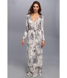 Brigitte Bailey Jaime Wrap Dress Womens Dress (Black)