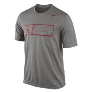 Nike Legend Training Day (Oklahoma) Mens T Shirt   GREEN