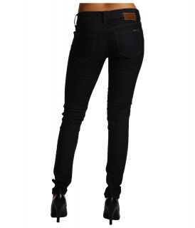 Mavi Jeans Serena Low Rise Super Skinny in Rinse Super Stretch Womens Jeans (Black)