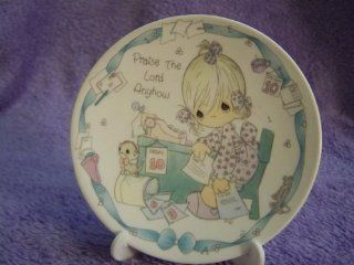 "Precious Moments ""Praise the Lord Anyhow"" Collectible Mini Plate  Other Products"