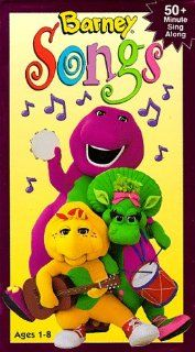 Barney Songs [VHS]: Bob West, Julie Johnson, Dean Wendt, David Joyner, Jeff Ayers, Patty Wirtz, John David Bennett, Pia Manalo, Carey Stinson, Lauren King, Emilio Mazur, Michaela Dietz, Dennis DeShazer, Kathy Parker, Sheryl Leach: Movies & TV