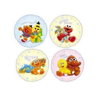 Sesame Street Beginnings Baby Shower Wall Decorations: Toys & Games