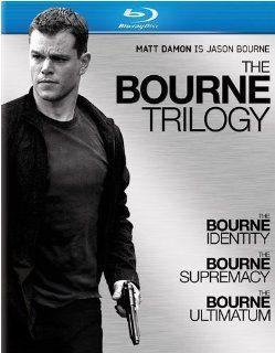 The Bourne Trilogy (The Bourne Identity / The Bourne Supremacy / The Bourne Ultimatum) [Blu ray]: Matt Damon, Franka Potente, Joan Allen, Brian Cox, Julia Stiles, �dgar Ram�rez, Chris Cooper, Clive Owen, Adewale Akinnuoye Agbaje, Gabriel Mann, Walton Goggi