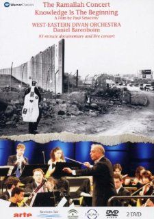 The Ramallah Concert   Knowledge Is the Beginning/West Eastern Divan Orchestra/Barenboim: Daniel Barenboim: Movies & TV