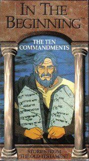 In The Beginning  The Ten Commandments (Animated) [VHS] In the Beginning Movies & TV