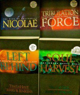Left Behind Series Books 1 through 4 (Left Behind; Tribulation Force; Nicolae; Soul Harvest) by Tim Lahaye and Jerry B. Jenkins (Paperbacks)  Other Products