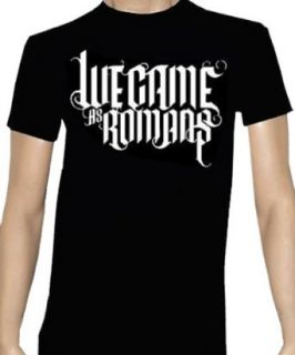WE CAME AS ROMANS   Text Logo   Navy Blue T shirt   size XXL Clothing