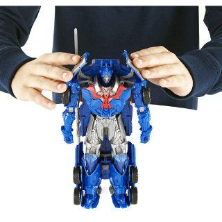 Transformers Age of Extinction Smash and Change Optimus Prime Figure: Toys & Games
