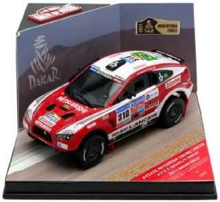 Mitsubishi Racing Lancer #310 G.Spinelli/H.Youssef 2011 Dakar Rally 1/43 Limited Edition 1 of 1099 Produced Worldwidees with Numbered Certificate of Authenticity by Vitesse 43438: Toys & Games
