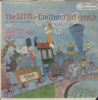 The Little Engine That Could as told by Paul Wing & Four Wonderful Winnie The Pooh Stories as told by James Stewart [Vinyl LP Record] Music