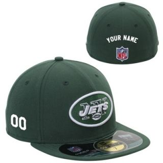 New Era New York Jets Mens Customized On Field 59FIFTY Football Structured Fitted Hat