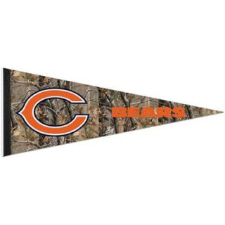 Chicago Bears 12 x 30 Real Tree Camo Premium Pennant