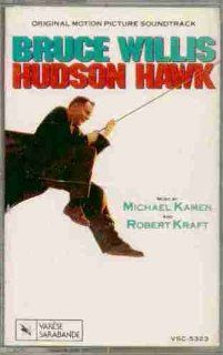 Hudson Hawk ~ Original Motion Picture Soundtrack (Original 1991 Varese Sarabande CASSETTE Tape NEW FACTORY SEALED in the Original Shrinkwrap Containing 11 Tracks Featuring Music by Michael Kamen and Robert Kraft) Music