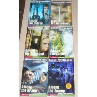 Shadow Children Series Books 1 6 Contains Among the Hidden, Haddix Among the Imposters, Haddix Among the Betrayed, Haddix Among the Barons, Haddix Among the Brave and Haddix Among the Enemy Margaret Peterson Haddix Books
