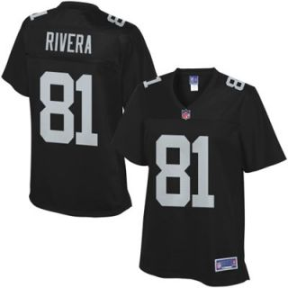Pro Line Womens Oakland Raiders Mychal Rivera Team Color Jersey