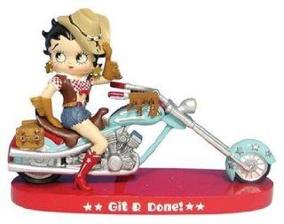Betty Boop Figurine   Git R Done Style by Westland Giftware   Collectible Figurines