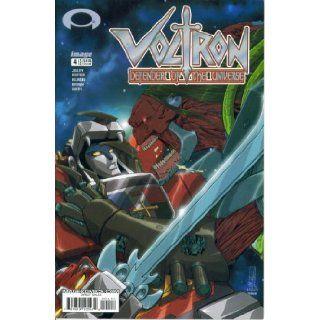 Voltron Defender of the Universe #4  Revelations Part Four (Devil's Due Publishing) Dan Jolley, Mike Norton, Clint Hilinski Books