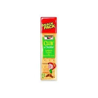 Keebler Products   Club/Cheddar Crackers, 1.8 oz, 8 Crackers/PK, 12/BX   Sold as 1 BX   Keebler's club and cheddar sandwich crackers with real cheddar cheese make a delicious snack during a busy workday. Includes eight crackers in a package. Filling sn