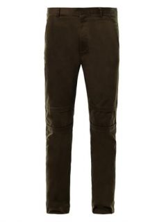 Cotton twill chinos  Helmut Lang