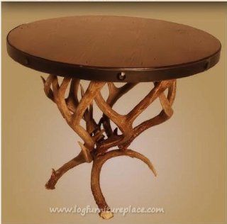 Shop Large Mule Deer Antler End Table at the  Furniture Store. Find the latest styles with the lowest prices from Antlered