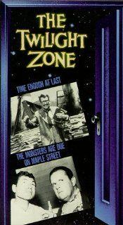 Twilight Zone (Time Enough At Last/The Monsters are Due on Maple Street) [VHS]: Rod Serling, Robert McCord, Jay Overholts, Vaughn Taylor, James Turley, Jack Klugman, Burgess Meredith, John Anderson, J. Pat O'Malley, Barney Phillips, George Mitchell, Cy