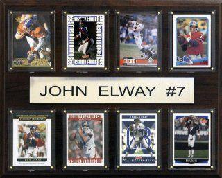 NFL Denver Broncos John Elway Eight Card Plaque : Decorative Plaques : Sports & Outdoors
