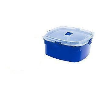 Sistema Large Microwave Steamer, Blue