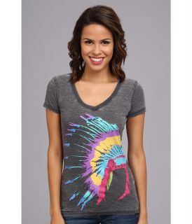 Rock and Roll Cowgirl Feather Short Sleeve Tee