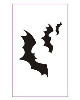 Bat Black Bat Tattoo Stickers Temporary Tattoos Fake Tattoos (Paste Neck / Shoulder / Chest / Hand /, Etc.) Fashion Models Single Noble Alternative Avant garde Barcode : Body Paint Makeup : Beauty