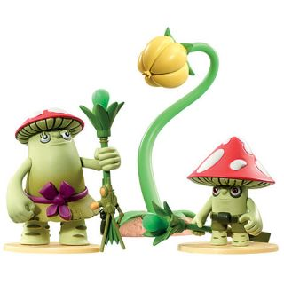 Tree Fu Tom Tree Fu Tom Deluxe Figure   Puffy and Stink