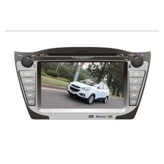 Titantech For (2009 2012) Hyundai IX35/TUCSON In Dash DVD GPS Navigation System, Navigator(Free map), Build In Bluetooth, Analog TV, AUX&USB, Radio with RDS, Phone/iPod Controls, rear view camera input, Steering Wheel Control  Vehicle Dvd Players  Ca