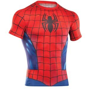 Under Armour Alter Ego Comp Shortsleeve Full Suit   Mens   Training   Clothing   Red/Royal