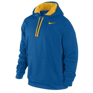 Nike KO Hoodie   Mens   Training   Clothing   Military Blue/Atomic Mango