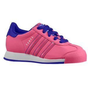 adidas Originals Samoa   Girls Preschool   Casual   Shoes   Ray Pink/Ray Pink/Blast Purple