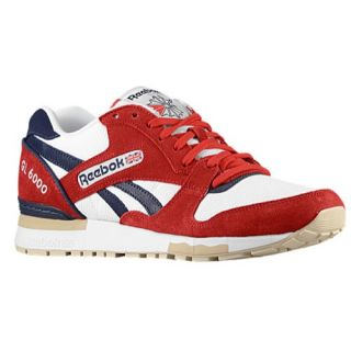 Reebok GL 6000   Mens   Running   Shoes   Excellent Red/White/Blue Cadet/Bone Chino