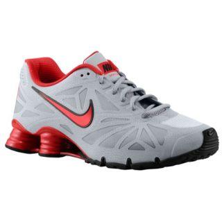 Nike Shox Turbo 14   Mens   Running   Shoes   Wolf Grey/Pure Platinum/Black/University Red