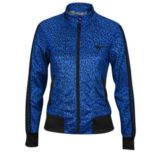 adidas Originals Supergirl Print Track Jacket   Womens   Casual   Clothing   Bluebird/Black