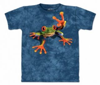 Victory Frog The Mountain Tee Shirt Art by David Penfound Clothing
