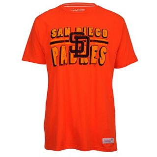 Mitchell & Ness MLB Tailored T Shirt   Mens   Baseball   Clothing   San Diego Padres   Orange