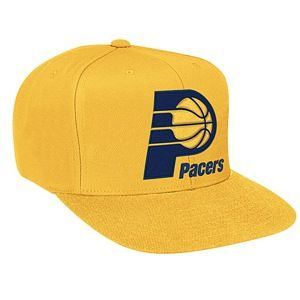 Mitchell & Ness NBA Solid Snapback   Mens   Basketball   Accessories   Indiana Pacers   Gold