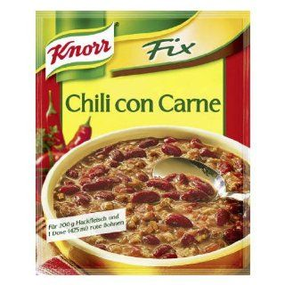 Knorr Fix chili with beans (Chili con Carne) (Pack of 4) : Chili Soups : Grocery & Gourmet Food