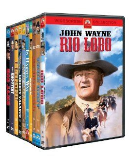John Wayne DVD Collection    Exclusive (10 Disc Set) Rodolfo Acosta, Sheldon Allman, Michael Anderson Jr., John Doucette, Paul Fix, James Gregory, Percy Helton, Earl Holliman, Dennis Hopper, Martha Hyer, George Kennedy, John Litel, Dean Martin, Strother M