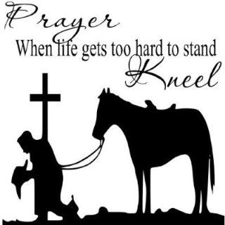 Prayer When life gets too hard.Religious Wall Quotes Wall sayings bible verse   Wall Decor Stickers