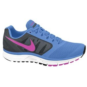 Nike Zoom Vomero+ 8   Womens   Running   Shoes   Dark Base Grey/Red Violet/Reflective Silver