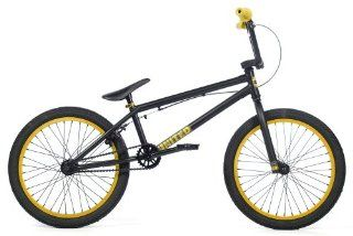 UNITED RECRUIT RN1 Bike Bicycle BMX NEW 2012 FLAT BLACK/GOLD YOU ARE GETTING 2 BMX BIKES FOR THIS LOW PRICE : Sports & Outdoors