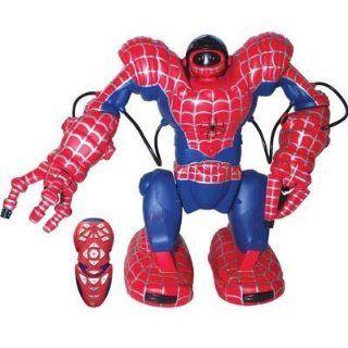 WowWee Spidersapien Spiderman Robosapien Robot RC Remote Control Humanoid Robotic Toy Toys & Games
