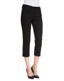Womens Chloe Cropped Newport Twill Pants   Christopher Blue   Mint blue (4)