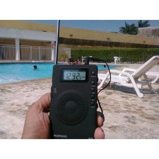 Grundig Mini GM400 Super Compact AM/FM Shortwave Radio with Digital Display   Black (NGM400B): Electronics